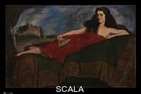 Zuloaga, Ignacio (1870-1945) Alva B. Gimbel. 1925. Oil on canvas, 48 x 78 in. (121.9 x 198.1 cm). Gift of Mr. and Mrs. Bernard F. Gimbel, 1964 (64.171)