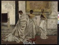 Klinger, Max (1857-1920) Caesar's death, 1879-1919. Oil on canvas, 124 x 159 cm. Inv.: I. 3133. Photo: Ursula Gerstenberger