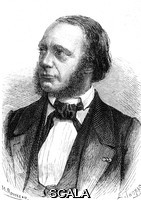 ******** Louis Breguet (1804-1883). 1868 illustration of the French physicist and watchmaker Louis-Francois-Clement Breguet. Breguet is best known for his work in the early days of telegraphy, but he also worked on the design of watches, clocks and scientific instruments. In the 1840s, together with Alphonse Foy, he developed an electrical needle telegraph. He did further work on telegraphy in the 1870s and was made a member of the French Academy of Sciences in 1874. Breguet is one of the 72 French scientists whose names are written around the base of the Eiffel Tower.