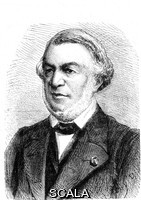 ******** Eugene Flachat (1802-1873). 1867 illustration of the French civil engineer Eugene Flachat. Flachat is best known for building the first railroad station in Paris, France, as well as redesigning the Gare Saint-Lazare railway station in Paris in 1851 and other railroad related projects. His name is one of the 72 names inscribed on the Eiffel Tower.
