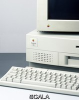 ******** Apple Macintosh computer. This is a Macintosh IIv1, a model of the Macintosh II series manufactured by Apple Computer Inc. It was introduced in 1992 and discontinued in 1993.