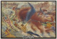Boccioni, Umberto (1882-1916) La citta' che sale, 1910