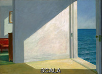 Hopper, Edward (1882-1967) Rooms by the Sea, 1951. Oil on canvas, 29 1/4 × 40 in. (74.3 × 101.6 cm) framed: 36 1/4 × 47 3/8 × 3 1/2 in. (92.1 × 120.3 × 8.9 cm)