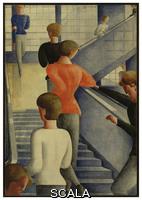 Schlemmer, Oskar (1888-1943) Bauhaus Stairway, 1932