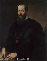 Vasari, Giorgio (1511-1574) Giorgio Vasari (1511-1574); Autoportrait; Galerie des Offices; Florence