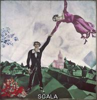 Chagall, Marc (1887-1985) The Stroll, 1917-18