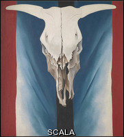 O'Keeffe, Georgia (1887-1986) Cow's Skull: Red, White, and Blue, 1931