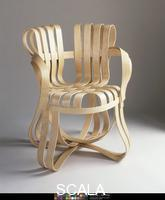 Gehry, Frank O. (1929-) Cross-Check Armchair. Designed 1992, manufactured 1997