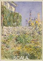 Hassam, Childe (1859-1935) Thaxter's Garden, 1892