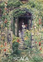 Hassam, Childe (1859-1935) The Isle of Shoals Garden (or) The Garden in its Glory, 1892