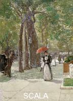 Hassam, Childe (1859-1935) Fifth Avenue at Washington Square, New York, 1891