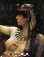 Cabanel, Alexandre (1823-1889) Cleopatra testing poison on death row prisoners, 1887, oil on canvas. Detail. End of the Ptolemaic Kingdom, Egypt, 1st century B.C