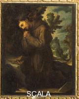 Cigoli, Ludovico (1559-1613) S. Francesco in adorazione