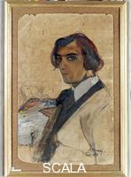 Bucci, Anselmo (1887-1955) Self-Portrait, 1907