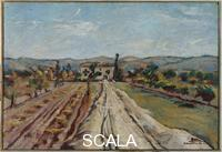 Bucci, Anselmo (1887-1955) Landscape in the Marche