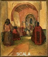 Bucci, Anselmo (1887-1955) Mass at Nuoro