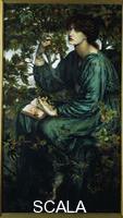 Rossetti, Dante Gabriel (1828-1882) The Day Dream (Il sogno ad occhi aperti), 1880