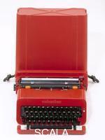 Sottsass, Ettore (1917-2007) Macchina da scrivere portatile Valentine, 1969