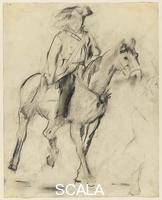 Rivers, Larry (1923-2002) Studio per 'George Washington che attraversa il Delaware', 1953
