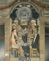Rivera, Diego (1886-1957) Il banchetto di Wall Street (El banquete de los ricos).