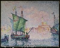 Signac, Paul (1863-1935) Signac, Paul (1863-1935). Venice-The Pink Cloud;  Venise-Le Nuage Rose. Paul Signac (1863-1935). Oil on canvas. Painted in 1909. 73 x 92.1cm.