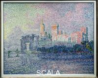 Signac, Paul (1863-1935) The Palace of the Popes at Avignon, 1900