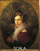 Mussini, Augusto (1870-1918) Portrait of Margherita Barezzi (1814-1840), wife of Giuseppe Verdi.