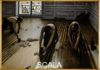 Caillebotte, Gustave (1848-1894) Floor Scrapers. 1875