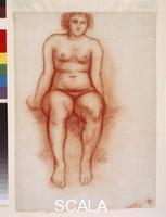 Maillol, Aristide (1861-1944) Seated Nude, ca. 1912