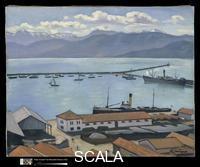 Marquet, Albert (1875-1947) The Port de Bougie, Algiers in Sunlight, 1925