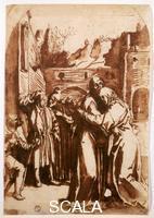Cigoli, Ludovico (1559-1613) Incontro alla Porta Aurea, copia da Duerer 14654 F