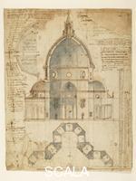 Cigoli, Ludovico (1559-1613) Cupola del Brunelleschi, n. 7980 Ar., 1610