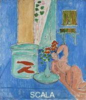 Matisse, Henri (1869-1954) Goldfish and Sculpture. Issy-les Moulineaux, 1912