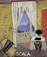 Matisse, Henri (1869-1954) Interior a la boite a violon (Interior with a Violin Case), 1918-19