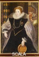 Zuccari, Federico (1540/3-1609), attr. Ritratto di Elisabetta d'Inghilterra, 1580 ca