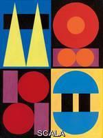 Herbin, Auguste (1882-1960) Herbin, Auguste (1882-1960). Blue. 1946