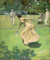 ******** Lavery, John (1856-1941). Played!!. 1885