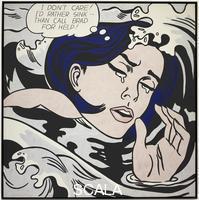 Lichtenstein, Roy (1923-1997) Ragazza che affoga, 1963