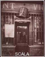 Atget, Eugene (1857-1927) Au Tambour, 63 Quai de la Tournelle, 1908