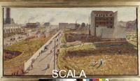 Boccioni, Umberto (1882-1916) Factories at Porta Romana