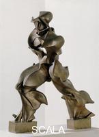 Boccioni, Umberto (1882-1916) Unique Forms of Continuity in Space, 1913