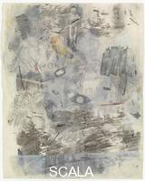 Rauschenberg, Robert (1925-2008) Canto I: la selva oscura dell'errore, dalla serie 'Trentaquattro illustrazioni per l'Inferno di Dante', 1958
