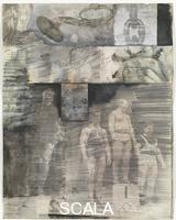 Rauschenberg, Robert (1925-2008) Canto XXXI: l'abisso centrale delle malebolge, i giganti, dalla serie 'Trentaquattro illustrazioni per l'Inferno di Dante', 1959-60