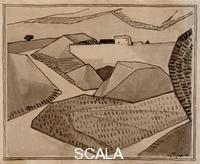 Gleizes, Albert (1881-1953) Paysage ou Paysage du midi, 1910