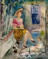 Camoin, Charles (1879-1965) Sous la tonnelle a Saint Tropez, 1942