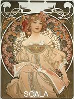 Mucha, Alphonse (1860-1939) Reverie, 1897