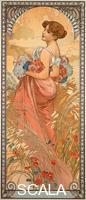 Mucha, Alphonse (1860-1939) Les saisons : l'ete, 1900
