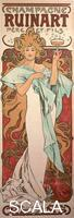 Mucha, Alphonse (1860-1939) Champagne Ruinart, 1896