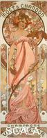 Mucha, Alphonse (1860-1939) Moet & Chandon Champagne White Star, 1899