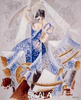 Severini, Gino (1883-1966) Danseuse en bleu